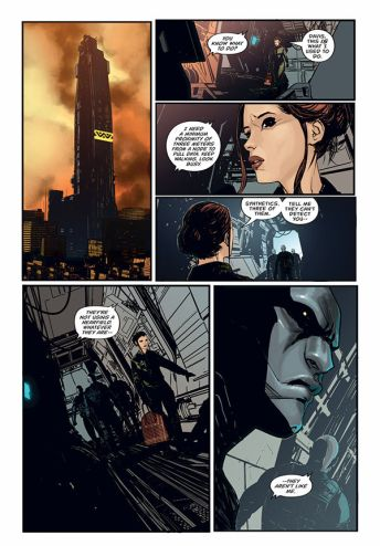 Dark Horse Comics' Aliens: Resistance Trade Paperback Preview Page 5