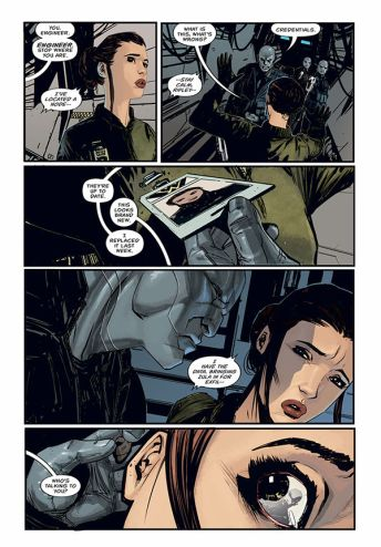 Dark Horse Comics' Aliens: Resistance Trade Paperback Preview Page 6