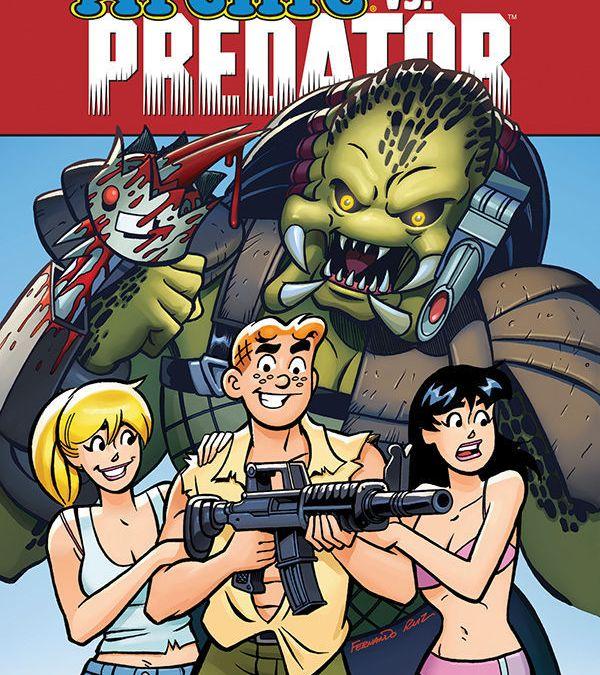 Dark Horse Comics & Archie Comics' Archie Vs. Predator Trade Paperback Cover by