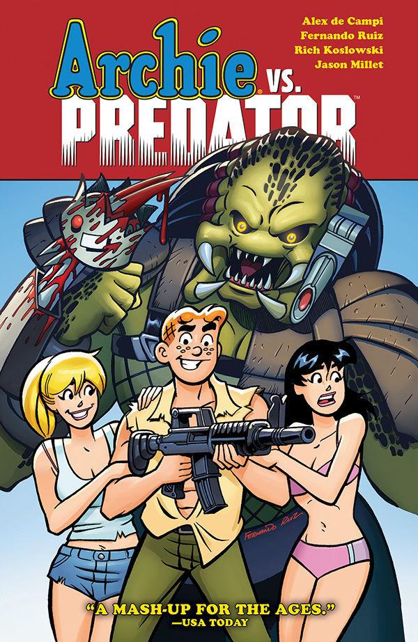 Dark Horse Comics & Archie Comics' Archie Vs. Predator Trade Paperback Cover