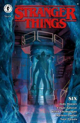 Dark Horse Comics' Stranger Things: SIX Issue #4 Cover C by Jenn Ravenna