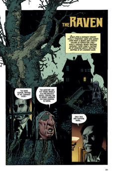Dark Horse Comics' Spirits of the Dead Paperback Graphic Novel Preview Page 1