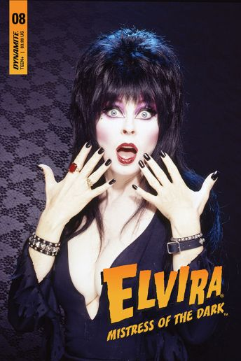 Dynamite Entertainment's Elvira: Mistress of the Dark Issue #8 Cover D (Photo)
