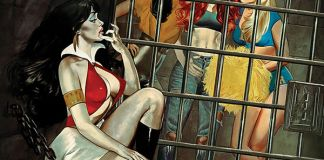 Dynamite Entertainment's Red Sonja & Vampirella Meet Betty & Veronica Issue #3 Cover A by Fay Dalton