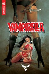 Dynamite Entertainment's Vampirella Vol. 5 Issue #2 Cover D by Ergun Gunduz