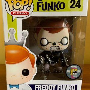 Funko Pop! #24 Freddy Funko as Ghost Rider