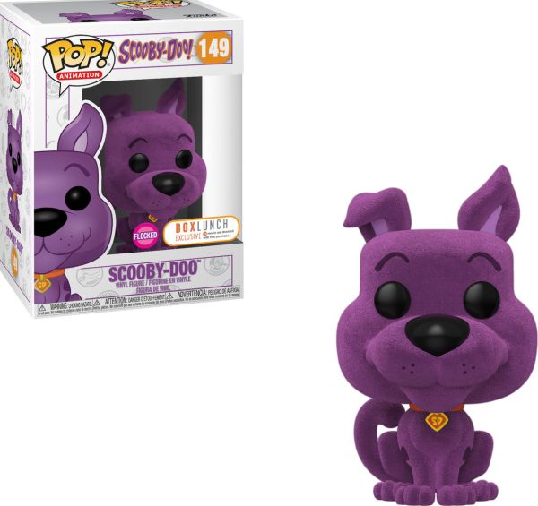 Funko Pop! Animation #149 Scooby-Doo [Flocked, Purple]