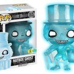 Funko Pop! Disney #165 Haunted Mansion Hatbox Ghost [Blue, Glow-in-the-Dark]