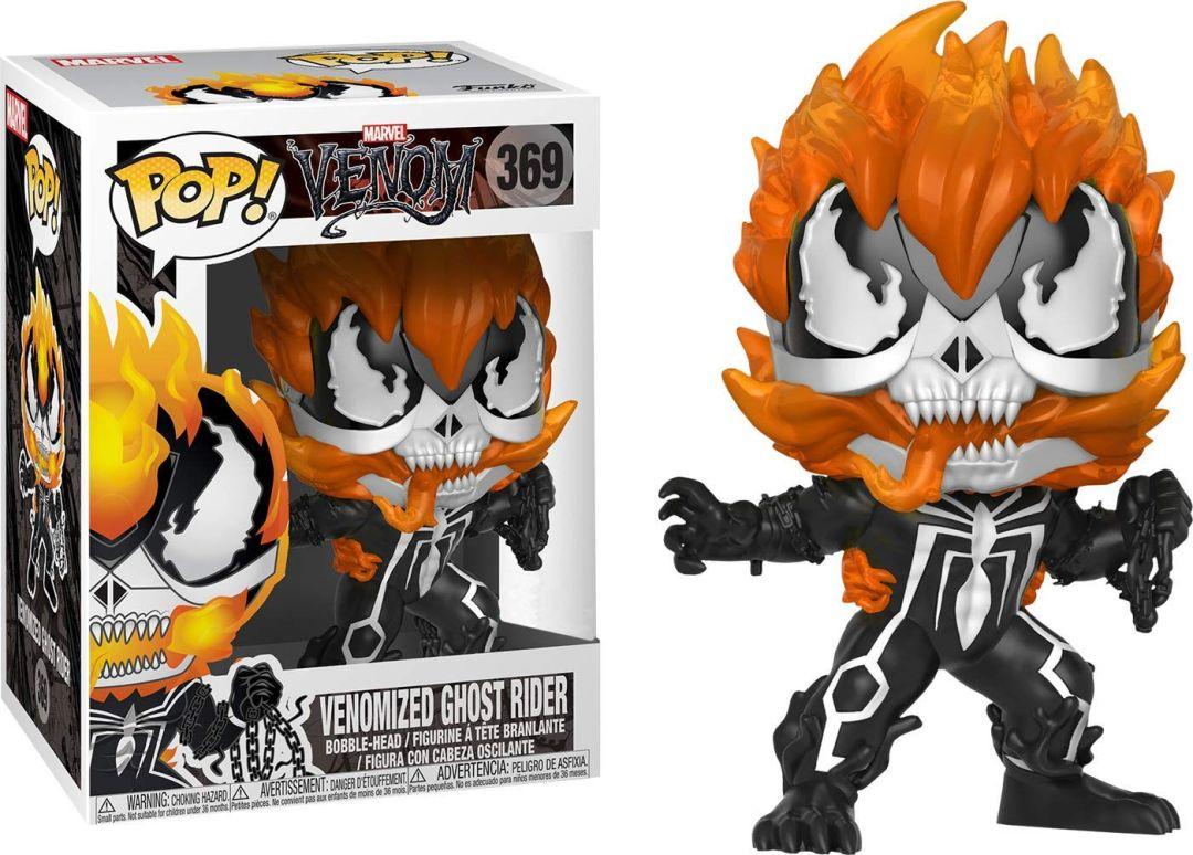 Funko Pop! Marvel #369 Marvel Venom Venomized Ghost Rider