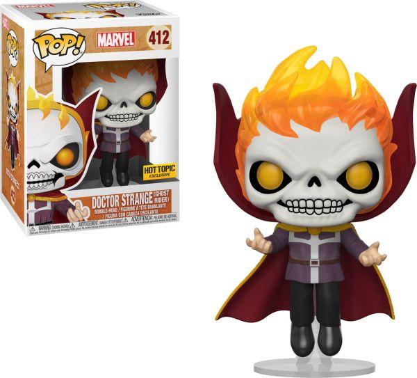 Funko Pop! Marvel #412 Marvel Doctor Strange (Ghost Rider)