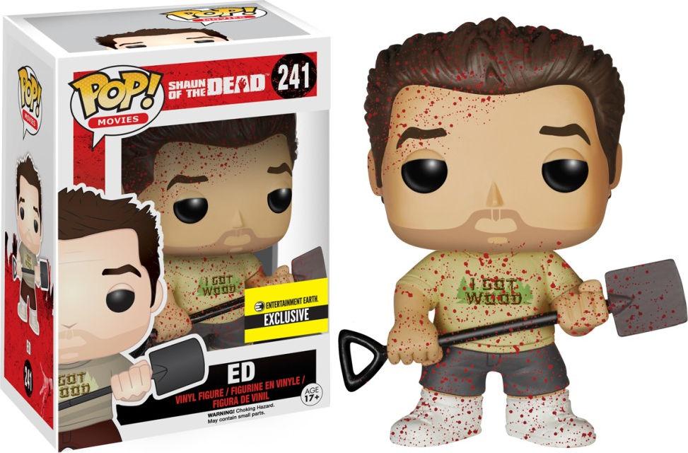 Funko Pop! Movies #241 Shaun of the Dead Ed [Bloody]