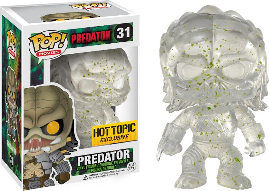 Funko Pop! Movies #31 Predator Predator [Bloody, Clear]