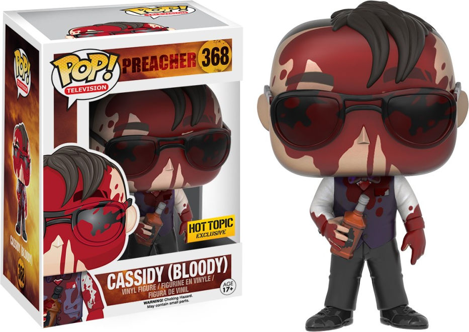 Funko Pop! Television #368 Preacher Cassidy (Bloody)