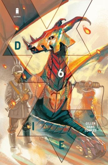 Image Comics' Die Issue #6 Cover A by Stephanie Hans