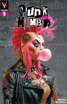 Valiant Entertainment's Punk Mambo Issue #5 Cover A by Dan Brereton