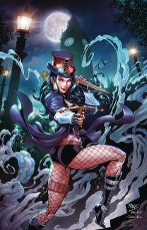Zenescope Entertainment's Van Helsing Vs Dracula's Daughter Issue #1 Cover D (Virgin) by John Royle