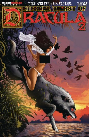 American Mythology Productions Eternal Thirst of Dracula 2 #2 Cover B (Risque) by Mike Kalvoda