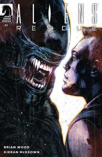 Dark Horse Comics Aliens: Rescue #3 Cover B by Mack Chater