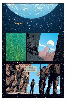 Dark Horse Comics Aliens: Rescue #3 Preview Page 1