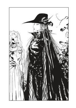 Dark Horse Comics Vampire Hunter D Volume 28 The Tiger in Winter Page 1