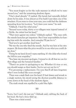 Dark Horse Comics Vampire Hunter D Volume 28 The Tiger in Winter Page 2
