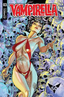 Dynamite Entertainment Vampirella Vol. 5 Issue #3 Cover B by Guillem March