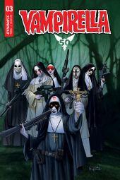 Dynamite Entertainment Vampirella Vol. 5 Issue #3 Cover D by Ergun Gunduz
