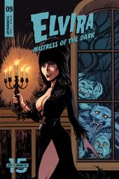 Dynamite Entertainment Elvira: Mistress of the Dark Issue #9 Cover B by Craig Cermak