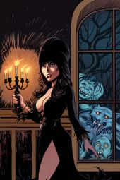Dynamite Entertainment Elvira: Mistress of the Dark Issue #9 Cover B (Virgin) by Craig Cermak