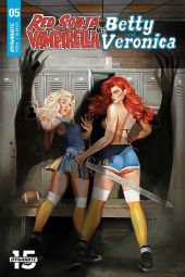 Dynamite Entertainment Red Sonja & Vampirella Meet Betty & Veronica #5 Cover A by Fay Dalton