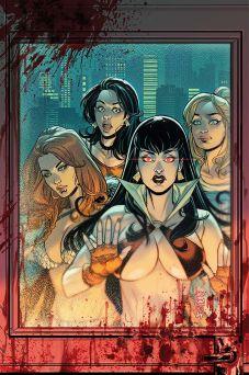 Dynamite Entertainment Red Sonja & Vampirella Meet Betty & Veronica #5 Cover C (Virgin) by Laura Braga