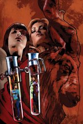 Dynamite Entertainment Red Sonja & Vampirella Meet Betty & Veronica #5 Cover E (Virgin) by Cat Staggs