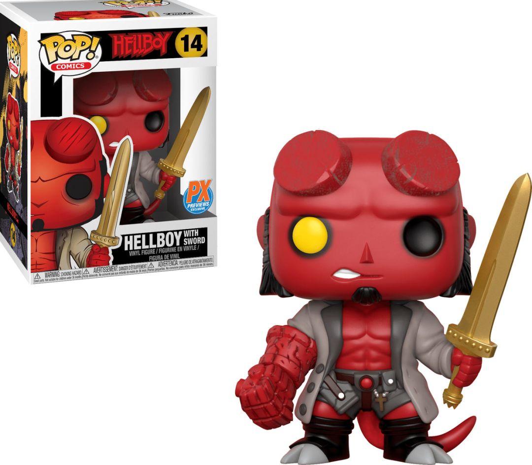 Funko Pop! Comics #14 Hellboy Hellboy With Sword
