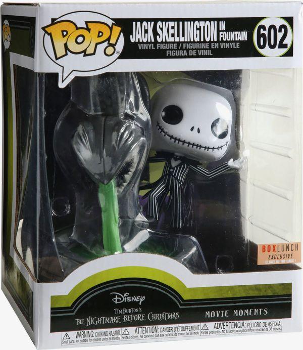 Funko Pop! Disney #602 The Nightmare Before Christmas Jack Skellington In Fountain [Glow-in-the-Dark]