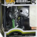 Funko Pop! Disney #602 The Nightmare Before Christmas Jack Skellington In Fountain [Glow-in-the-Dark]