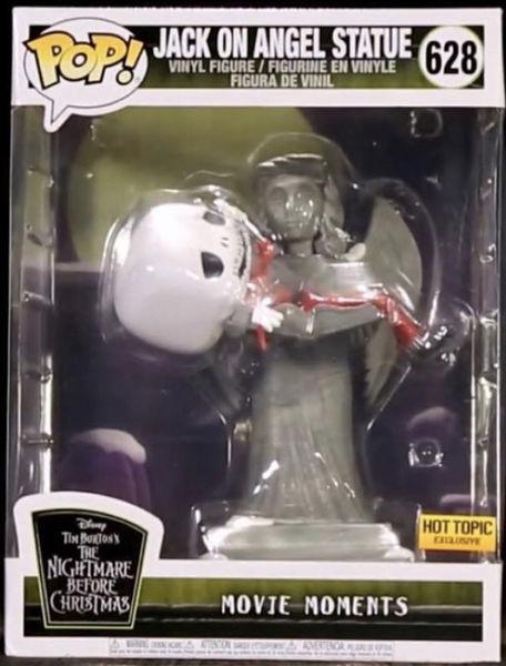 Funko Pop! Disney #628 The Nightmare Before Christmas Jack On Angel Statue