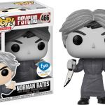 Funko Pop! Movies #466 Psycho Norman Bates [Black & White]