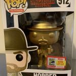 Funko Pop! Television #512 Stranger Things Hopper [Gold]