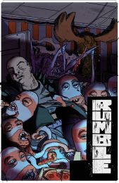 Image Comics Rumble Issue #16 Cover D by Bjarne Hansen