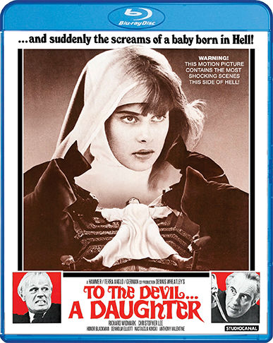 Scream Factory To the Devil... a Daughter Blu-ray Cover