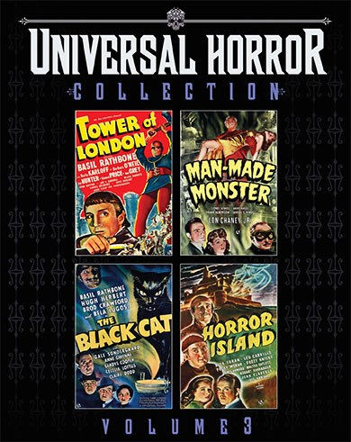 Scream Factory Universal Horror Collection Volume 3 Blu-ray Cover