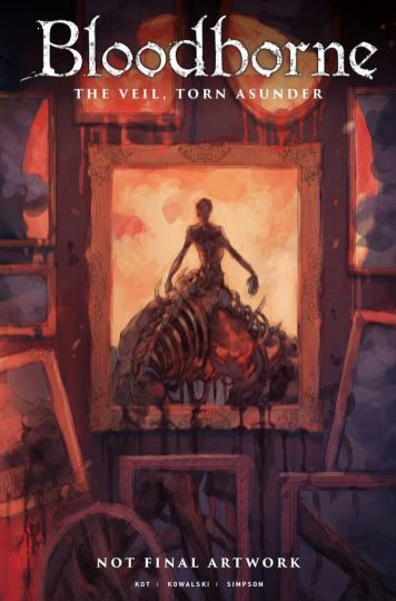 Titan Comics Bloodborne Issue #15 Cover B by Yoshioka