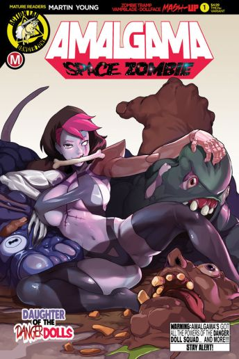 Action Lab Danger Zone Amalgama #1 Cover E by TMChu
