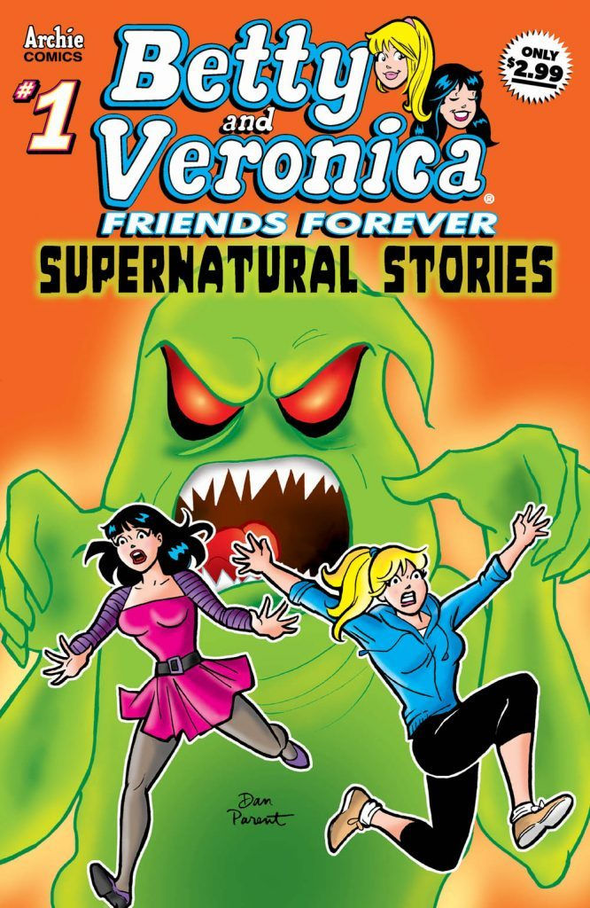 Archie Comics Betty & Veronica Friends Forever #1 Supernatural Stories #1 Cover A by Parent