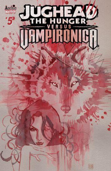 Archie Comics Jughead The Hunger vs Vampironica #5 Cover B by David Mack