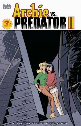Archie Comics Archie vs Predator II #3 Cover E by Sandy Jarrell