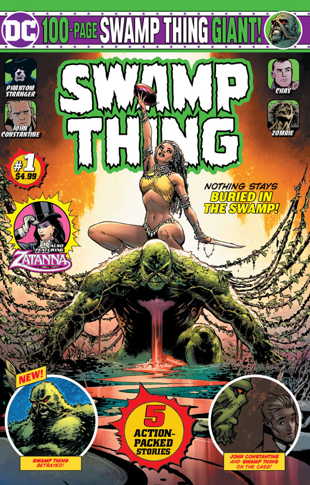 DC Comics Swamp Thing Giant #1 Cover A by Doug Mahnke