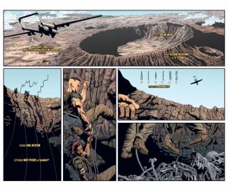 Dark Horse Comics Aliens Rescue #4 Preview Page 2