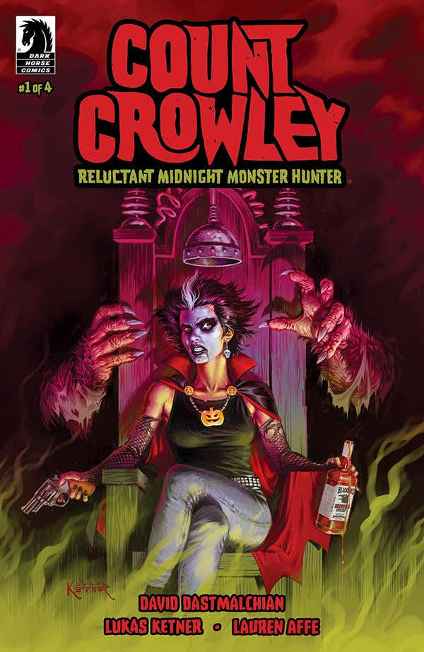 Dark Horse Comics Count Crowley: Reluctant Midnight Monster Hunter #1 Cover A by Lukas Ketner