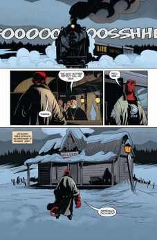 Dark Horse Comics Hellboy and the B.P.R.D.: Long Night at Goloski Station One-Shot Preview Page 1